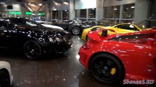 The BEST Supercar Showroom in the World? - Alain Class, Dubai