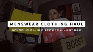 Menswear Christmas Sales Haul (HERA London, All Saints, Topman, The Couture Club, H&M)