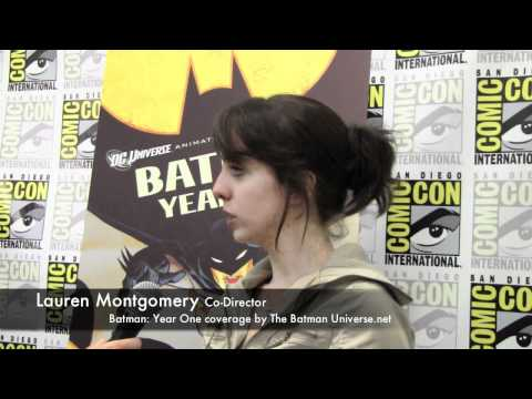Batman: Year One  with Lauren Montgomery
