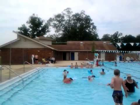 Dallas Swimming Lessons - 1st day today - June 4, 2012