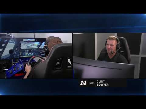 Best of Bowyer from virtual Texas Motor Speedway | NASCAR