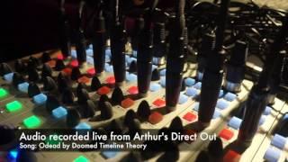 Arthur mixer - Live recording DTT band