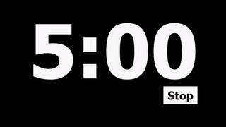5 Minute Countdown Timer