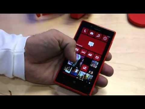 Nokia Lumia 720 hands on   YouTube
