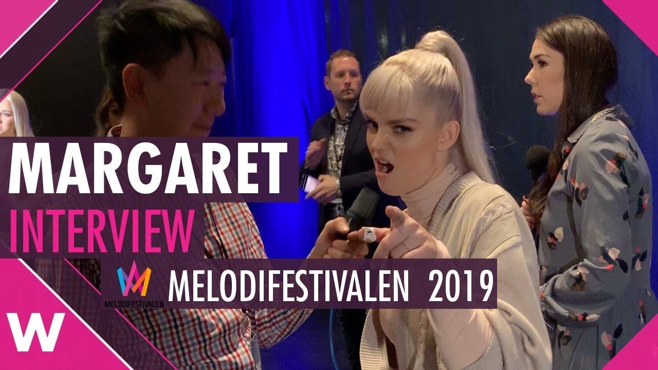 "Margaret Melodifestivalen: Margaret ""Tempo"" Interview @ Melodifestivalen 2019"