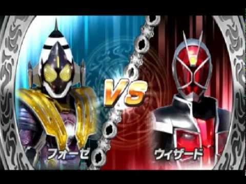 Немного геймплея Kamen Rider Super Climax Heroes(2)