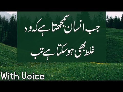 Jab Insan Samjta Hai,Precious Golden Words 2019
