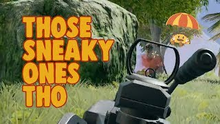 Gotta Watch Out for Those Sneaky Ones - chocoTaco PUBG Game Recap