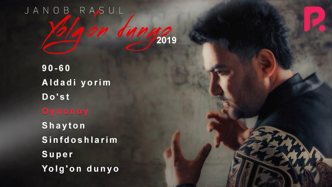 Janob Rasul - Yolg'on dunyo nomli albom dasturi 2019