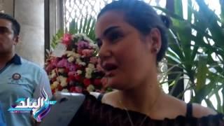 سما المصري في ضريح «عبد الناصر» وسط اعتراضات على وجودها.. فيديو وصور