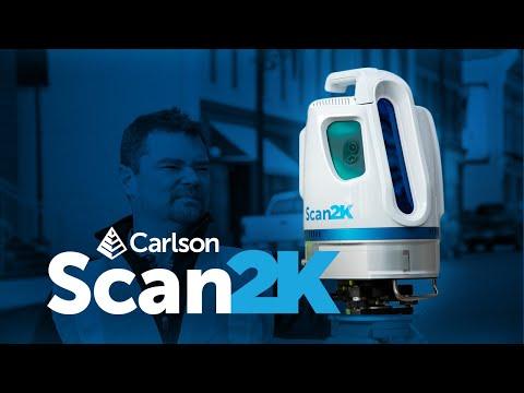 Carlson Scan2K Terrestrial Scanner
