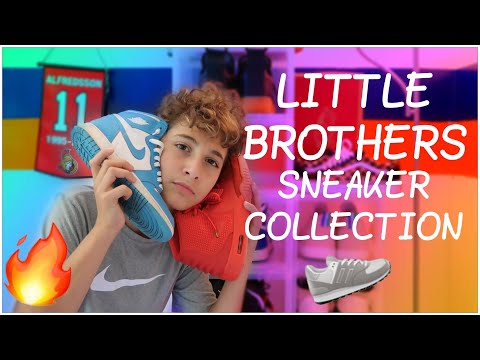 Little Brothers SNEAKER COLLECTION🤯|12 Years Old‼️
