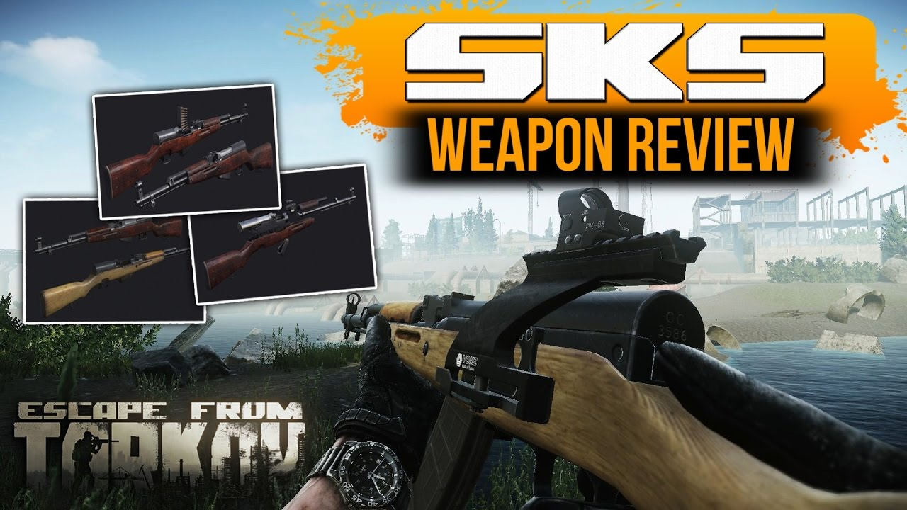 Escape From Tarkov - SKS best weapon in game (WEAPON REVIEW)