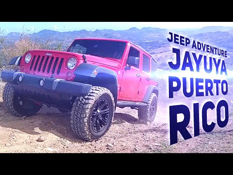 Spectacular Jeep Offroad Muddy Trail Adventure in Jayuya Puerto Rico