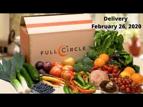 Full Circle Organic Fresh Fruits and Vegetables Delivery Service