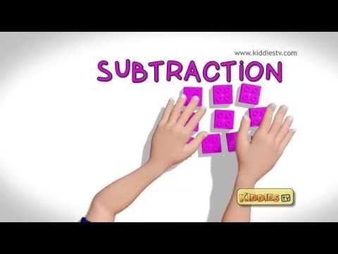 LEGO BRICKS COUNTING | Learn Subtraction with LEGO bricks 1-10 for children | Kiddiestv