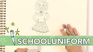 Jill - DIY: Schooluniform tekenen