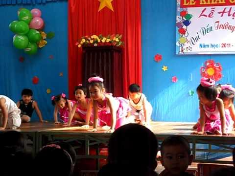 Múa Erobic- Lớp Lá - Trường mầm non Lạc Hồng - H. Tánh Linh - Bình Thuận