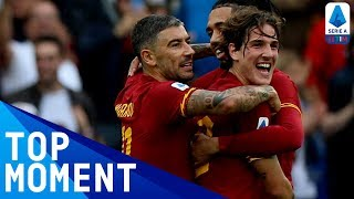 Zaniolo Celebrates his 50th Roma Appearance With a Goal! | Roma 2-1 Napoli | Top Moment | Serie A