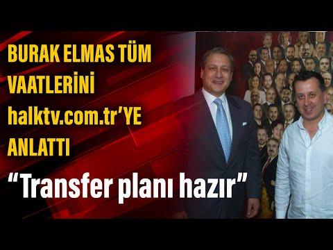 Galatasaray başkan adayı Burak Elmas: Transfer çalışmaları tamam, diğer adaylard