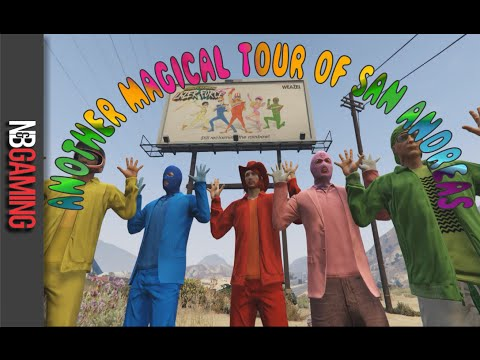 Another Magical Tour of San Andreas - GTA Online - Rockstar Editor