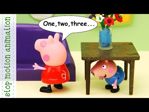 Grandpa Pig's Country House And Hide And Seek Game Peppa Pig Toys Animation All New English Episodes