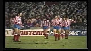 1986-87. Copa. Mallorca 1 - At. Madrid 3
