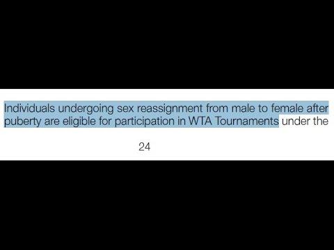 (Australian Open 2017)Women & Transsexual's Tennis Association