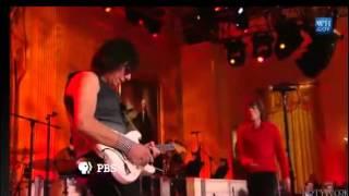 """Mick Jagger avec Jeff Beck : """"Commit a crime"""" à la Maison Blanche"""