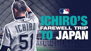 Ichiro plays his final Major League games in Japan