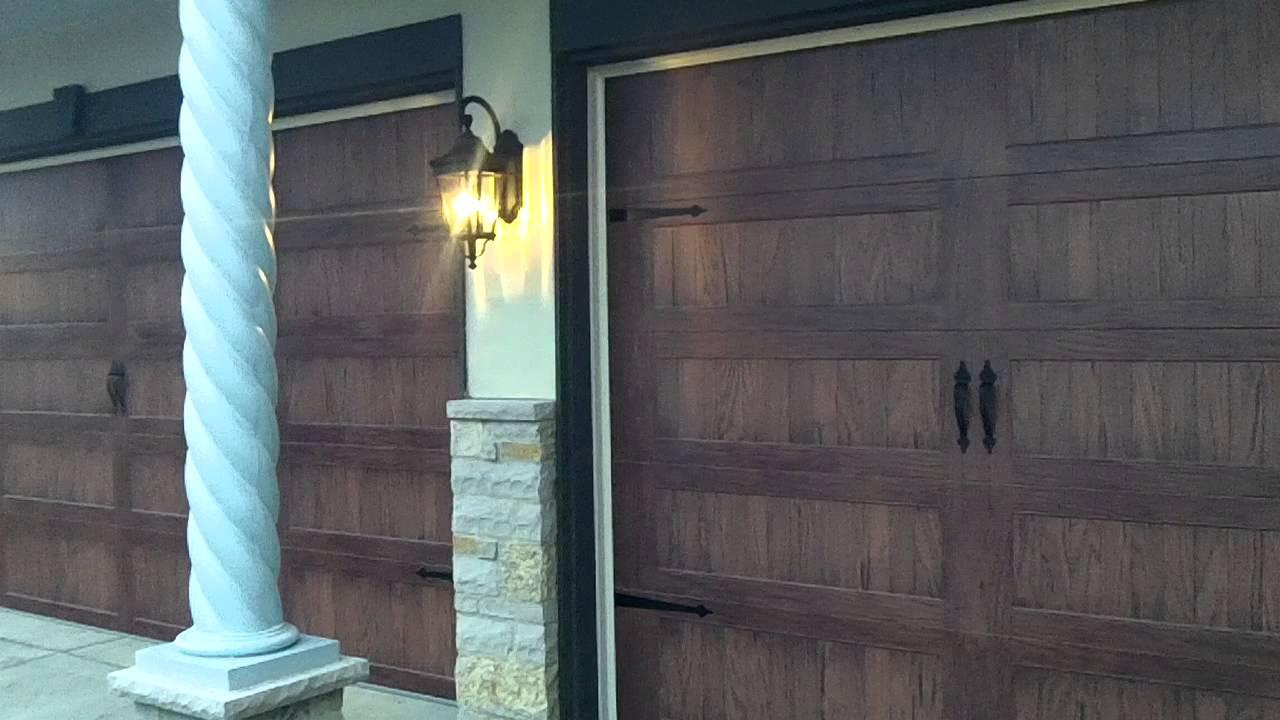 Standard Carriage Door Hardware For Garage Doors 630 271 9343 Youtube