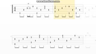 [TAB] Xin lỗi anh yêu em Guitar Solo