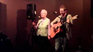 Andy & Grandma - on stage