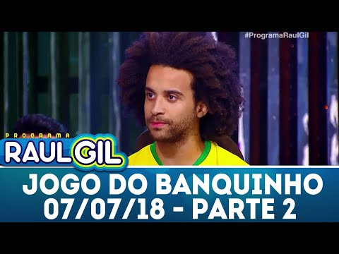 Jogo do Banquinho - Parte 2 - 07/07/18 | Programa Raul Gil