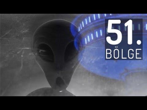 51. BÖLGE. Sırları, Uzaylılar, Uzaylı...