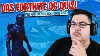 😨 The Fortnite OG Quiz! - Did I earn the BLACK RITTER?
