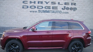 SOLD! 6J301A 2016 JEEP GRAND CHEROKEE HIGH ALTITUDE OVERLAND FOND DU LAC $39,999 www.SUMMITAUTO.com
