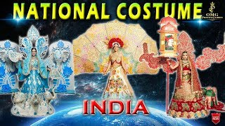 INDIA'S Beautiful National Costume in World Beauty Pageants @ OMG Pageant & Glamour