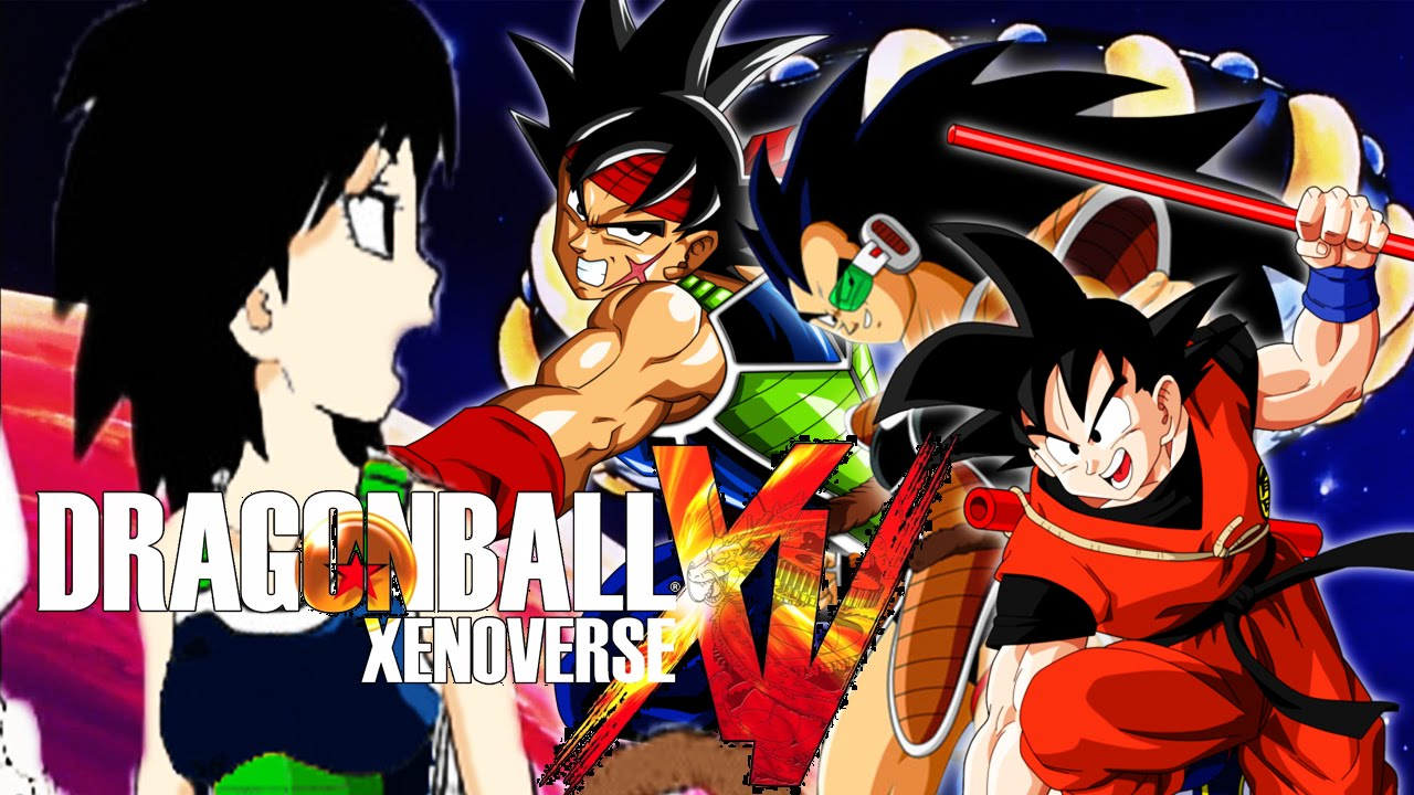 gine vs bardock raditz and goku db xenoverse duels youtube