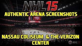 NHL 15 New Authentic Arena Screenshots - Nassau Coliseum and The Verizon Center