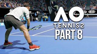 AO TENNIS 2 Career Mode Part 8 - TOP 200