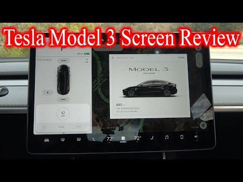 Tesla Model 3 Screen *IN DEPTH REVIEW*