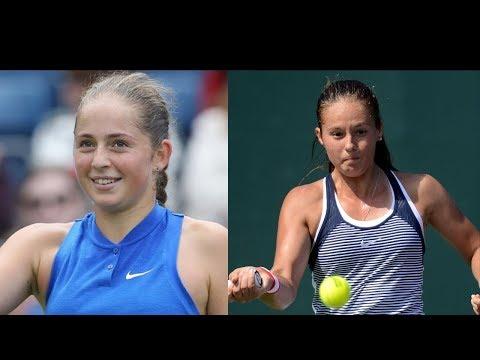 senzationale jucatoare Tenis - Noul VAL: Jelena Ostapenko, Daria KAsatkina
