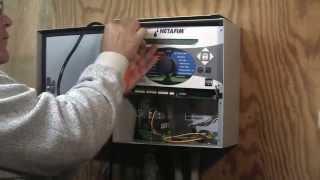 Installing a WIN200 to a Netafim Landscape Controller