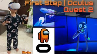Oono Playing First Step | Oculus Quest 2 #shorts
