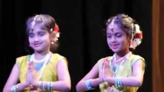 Kids Bharathanatiyam in TCS Kurukshetra 2015