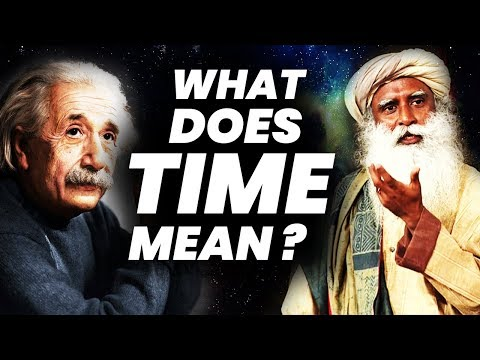 What is Time ?   Bending Space Time    Gravity and Time    Sadhguru   Adiyogi
