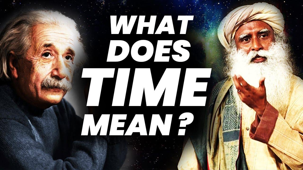 What is Time ? | Bending Space Time  | Gravity and Time || Sadhguru | Adiyogi