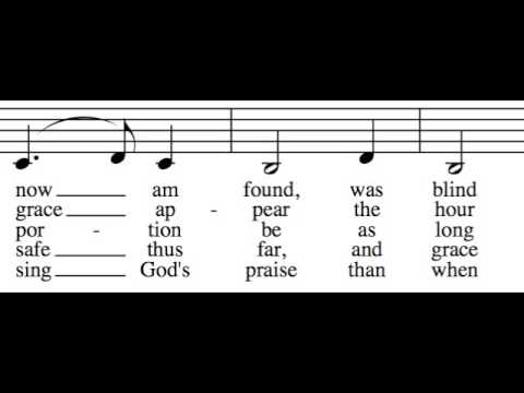 Amazing Grace - Alto Only - Learn How to Sing Harmony