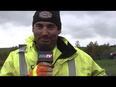 2015 Powerline Park GNCC Live - Mud Hole Explanation Featuring Barry Hawk and Jeff Russell
